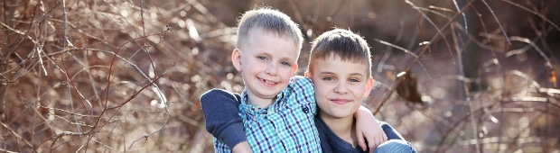 Picture of two children