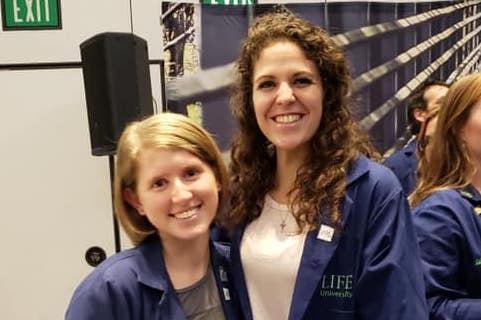 Scholarship Recipients Zurawski and Frye