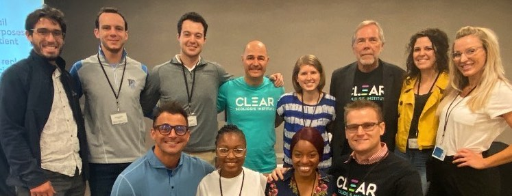 CLEAR doctors and students at one of CLEAR's chiropractic seminars
