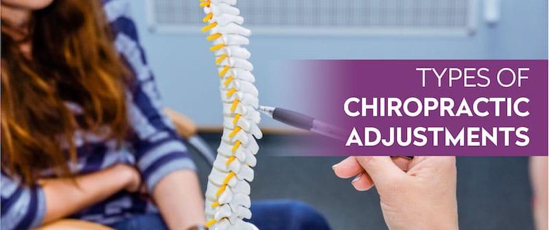 Types of Chiropractic Adjustments Image