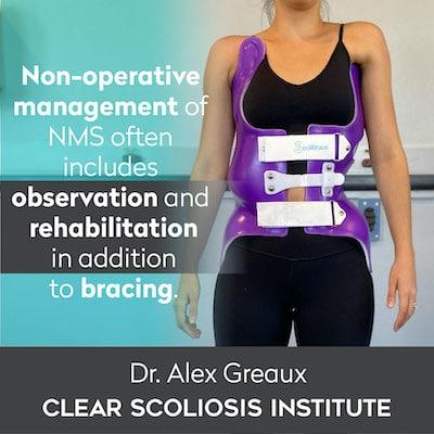 Dr. Alex Greaux Non-Operative Management quote
