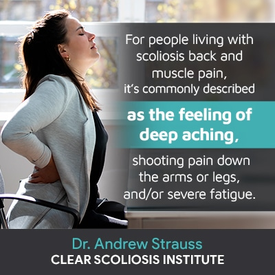 for people living with scoliosis